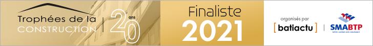 Knauf Finaliste 2021 Trophées de la construction